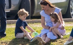 Prince George, Kate Middleton and Princess
