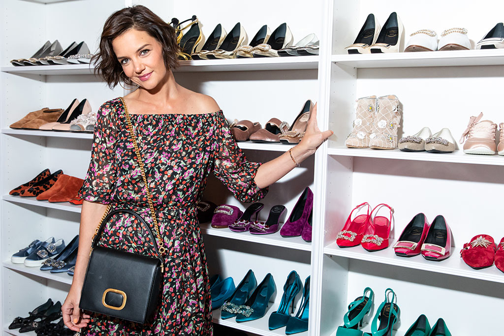 Katie Holmes, roger vivier, love vivier, book launch party