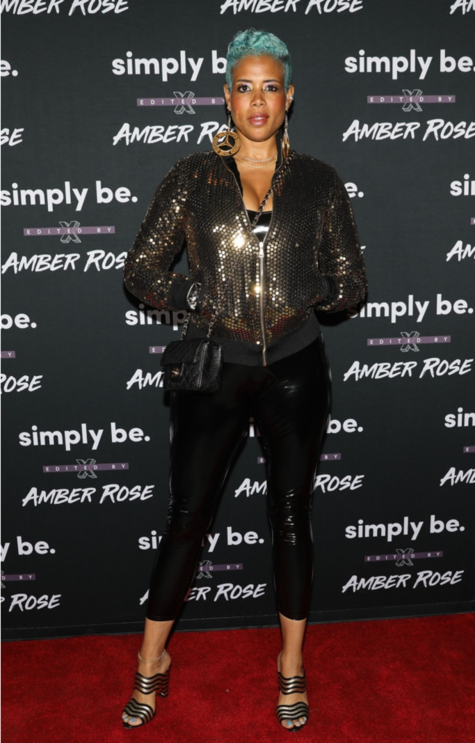 kelis, amber rose x simply be launch party