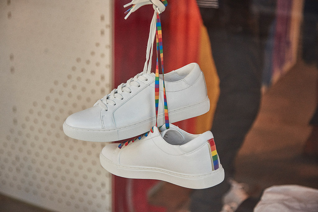 kenneth cole pride collection, sneakers