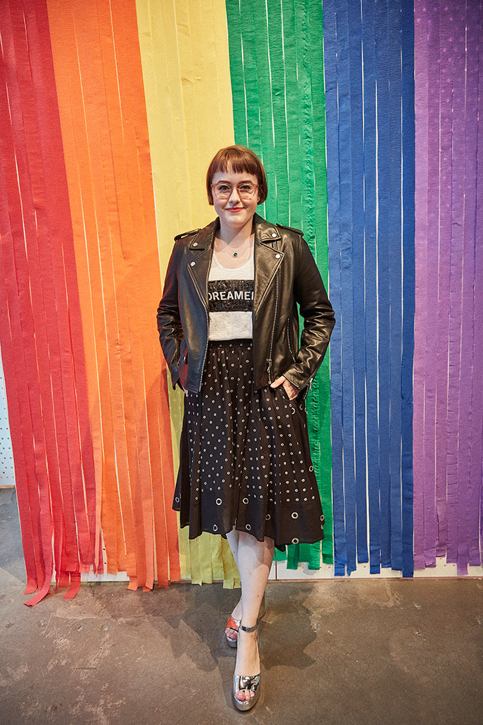 Caitlin Kinnunen, kenneth cole pride collection