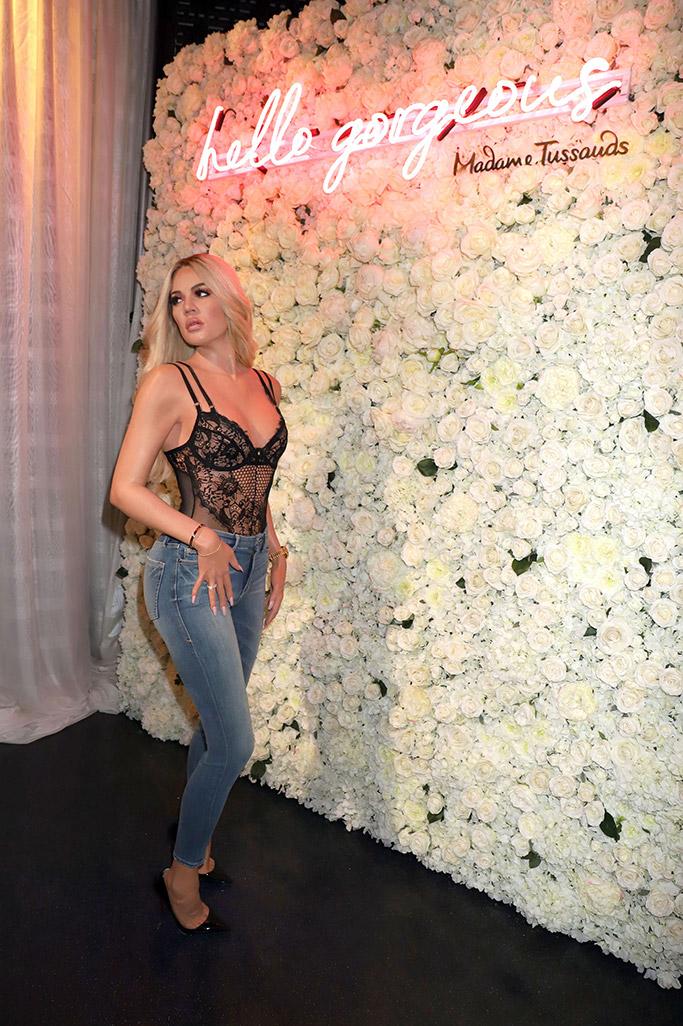 khloe kardashian, las vegas, madame tussauds