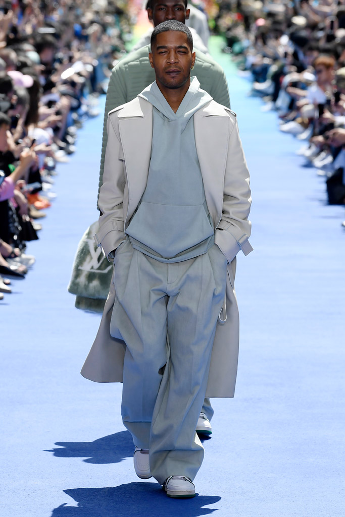 Louis Vuitton, kid cudi, runway, spring 2019