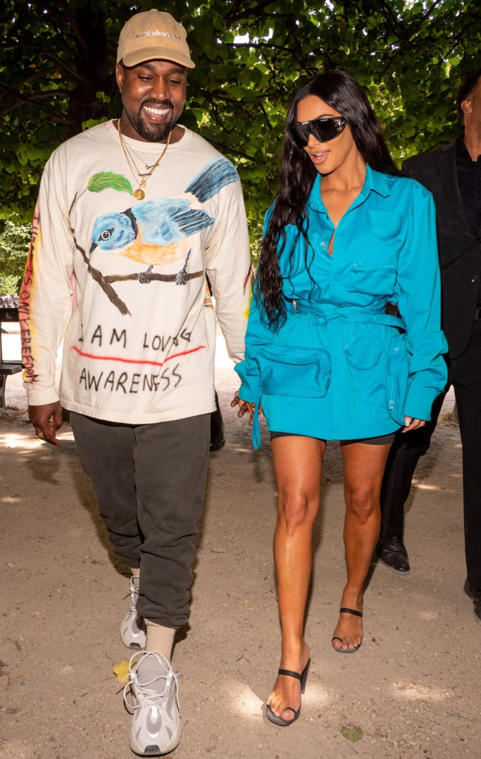 louis vuitton, paris fashion week men's, kim kardashian,kanye west