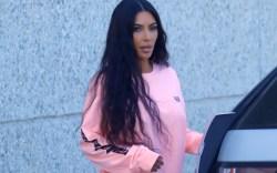 kim kardashian yeezy calabasas