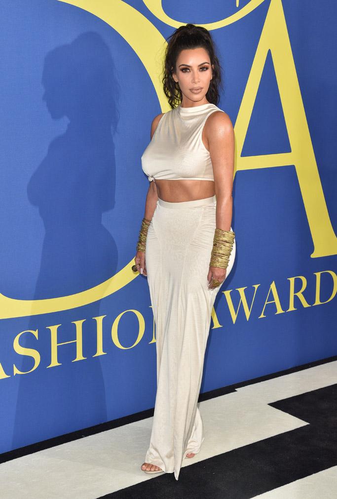 Kim Kardashian, cfda awards 2018, social media influencer
