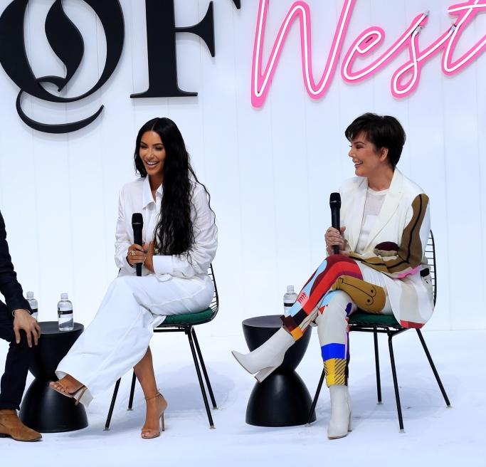 Business of Fashion's inaugural BoF West summit , kim kardashian, kris jenner,