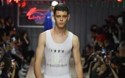 Li-Ning spring 2019, runway, paris fashion