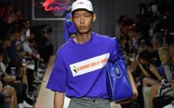 li-ning spring 2019 collection, paris men's