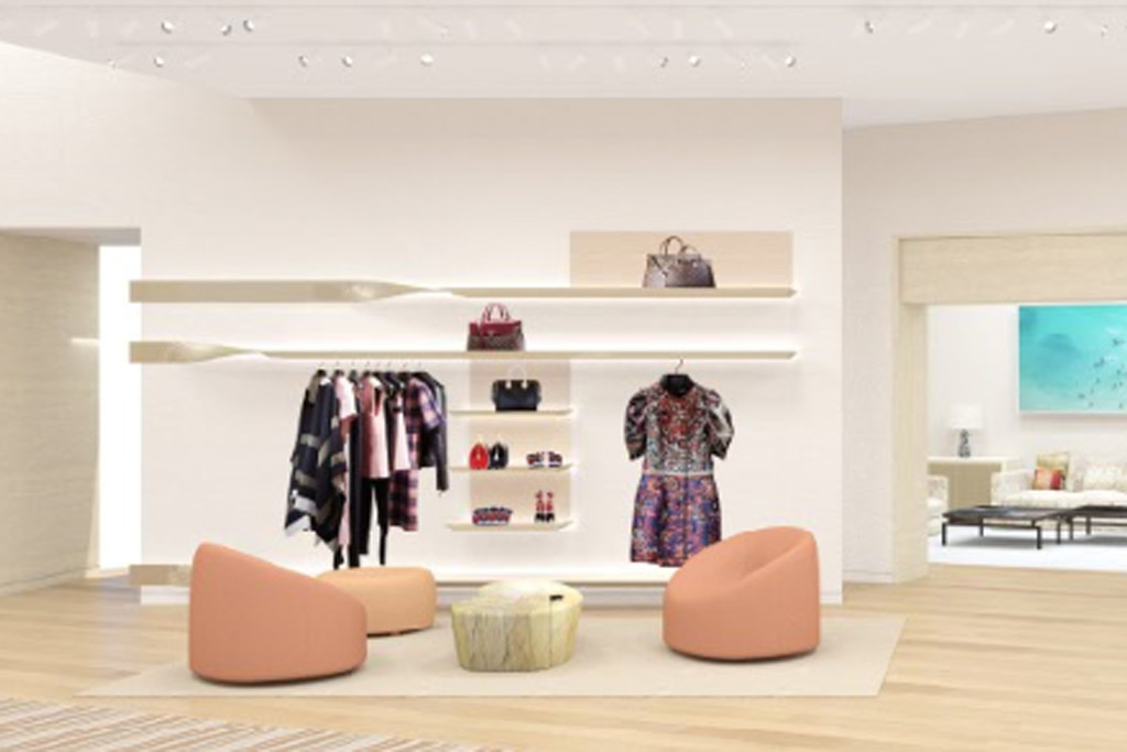 Louis Vuitton's new space.