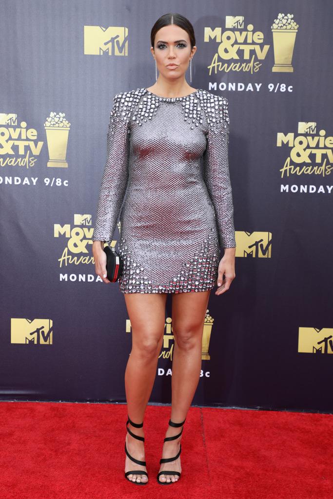 mtv movie awards, Mandy Moore, red carpet