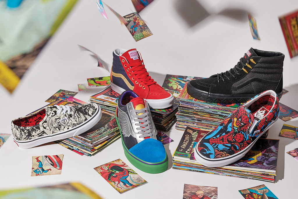 Marvel and Vans Unveil Sneaker & Apparel Collection for Fall 2018 ...