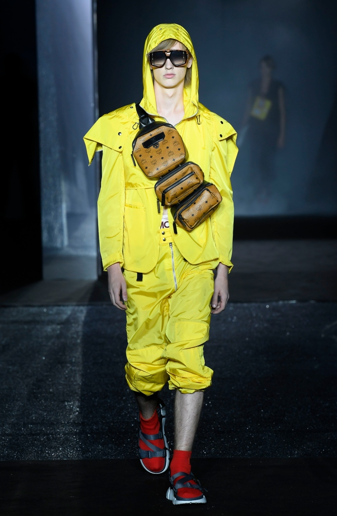 mcm puma luft spring 2019 collection, pitti uomo