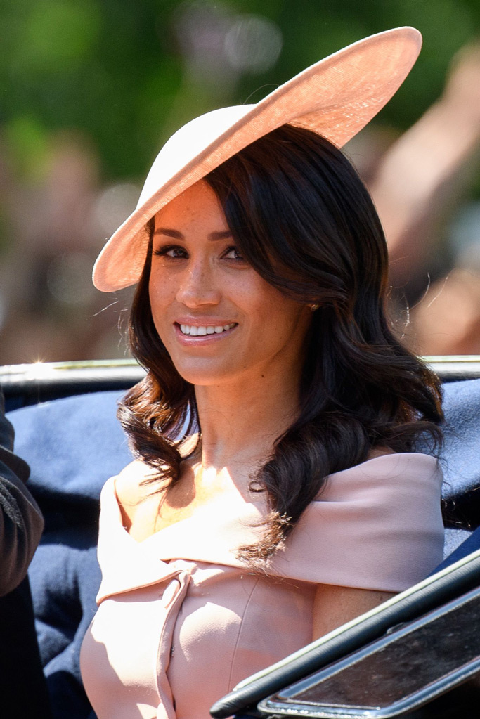 meghan markle, trooping the colour