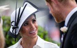 meghan markle royal ascot debut