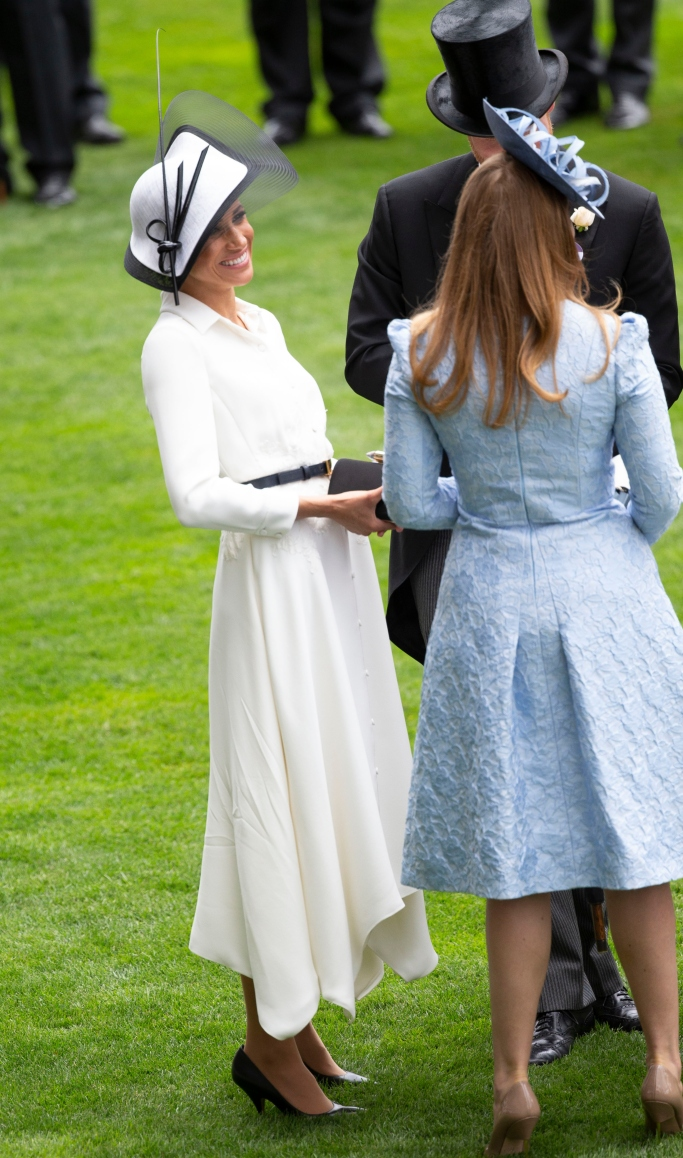 meghan markle, Royal Ascot Debut