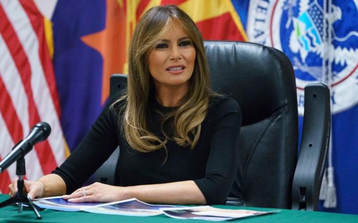 Melania Trump, border
