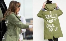 melania trump zara jacket, i dont