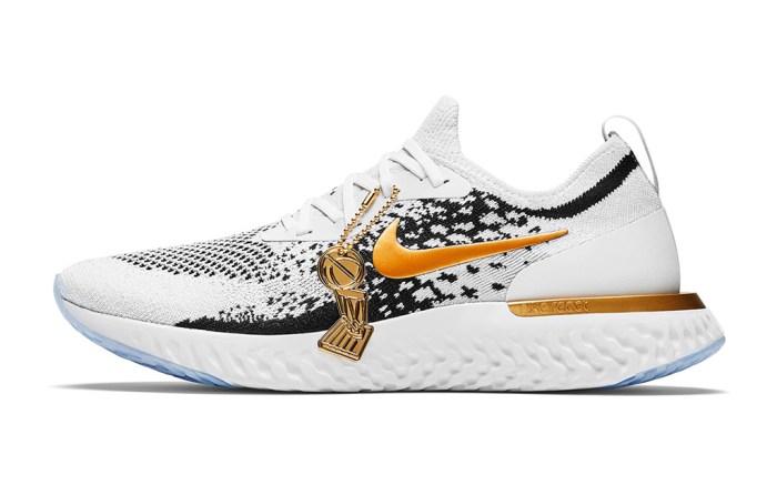 Nike Epic React Flyknit Golden State Warriors