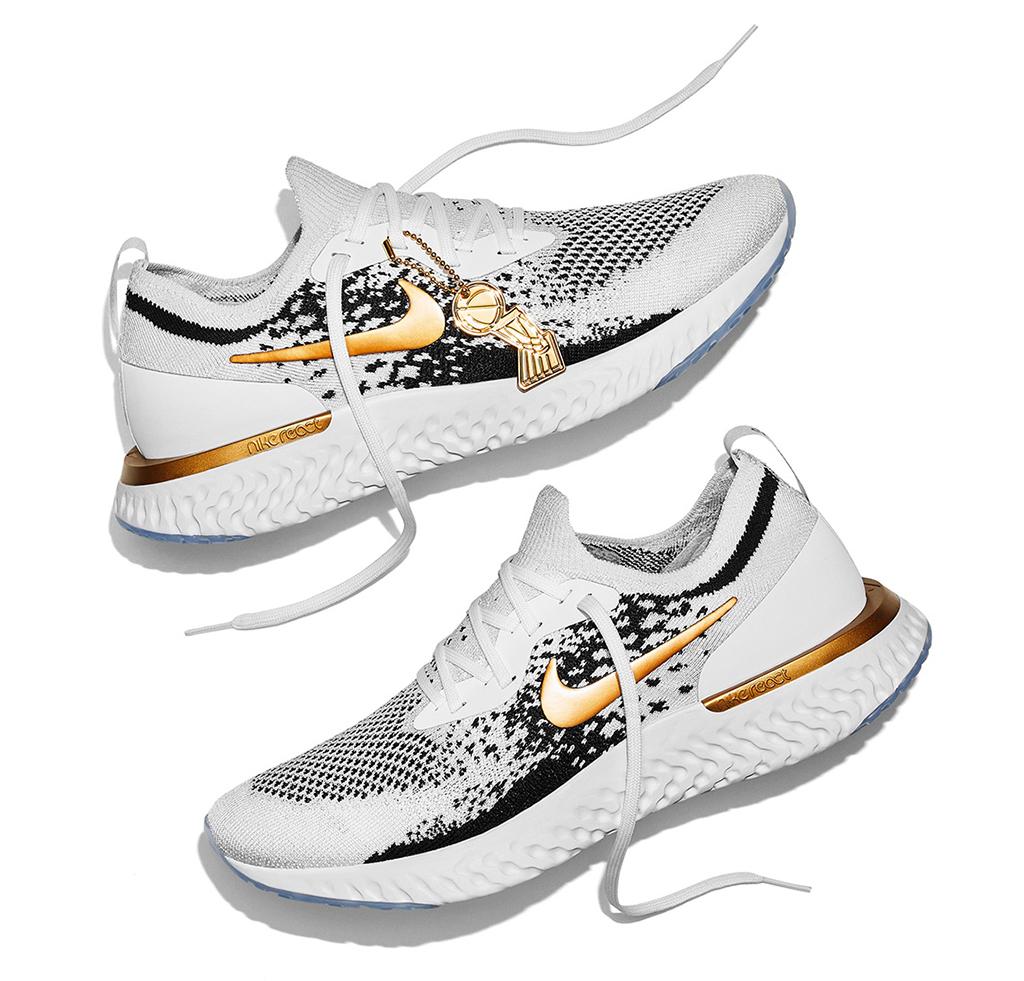 Nike Epic React Flyknit Golden State Warriors PE