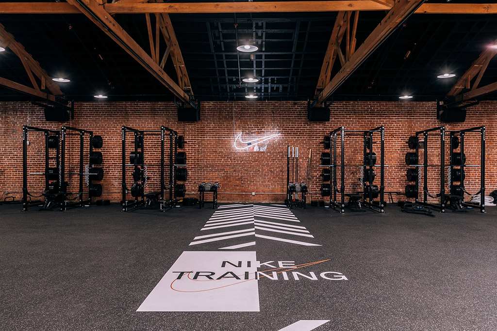 Nike, just do it hq, training space
