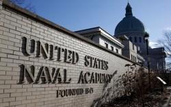 nike, undefeated logo, naval academy