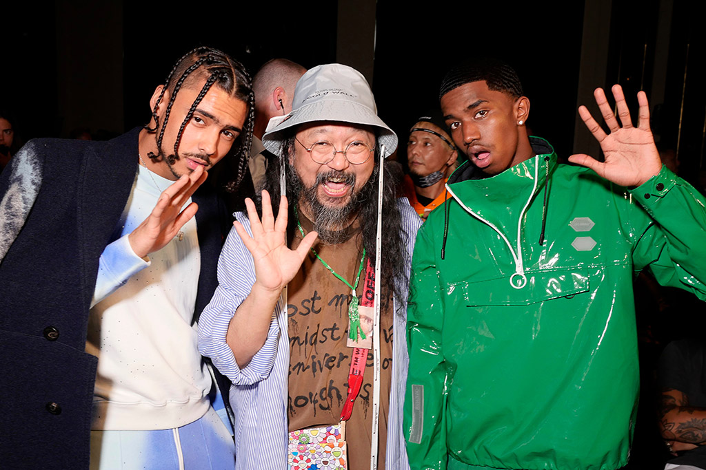 Quincy Brown, Takashi Murakami, Christian Combs, off-white, paris