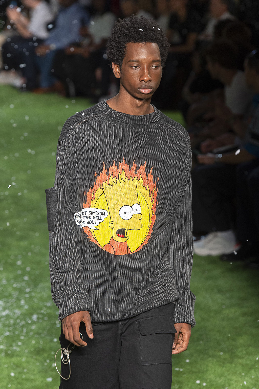 Off-White, Bart Simpson, shirt, paris, ss19