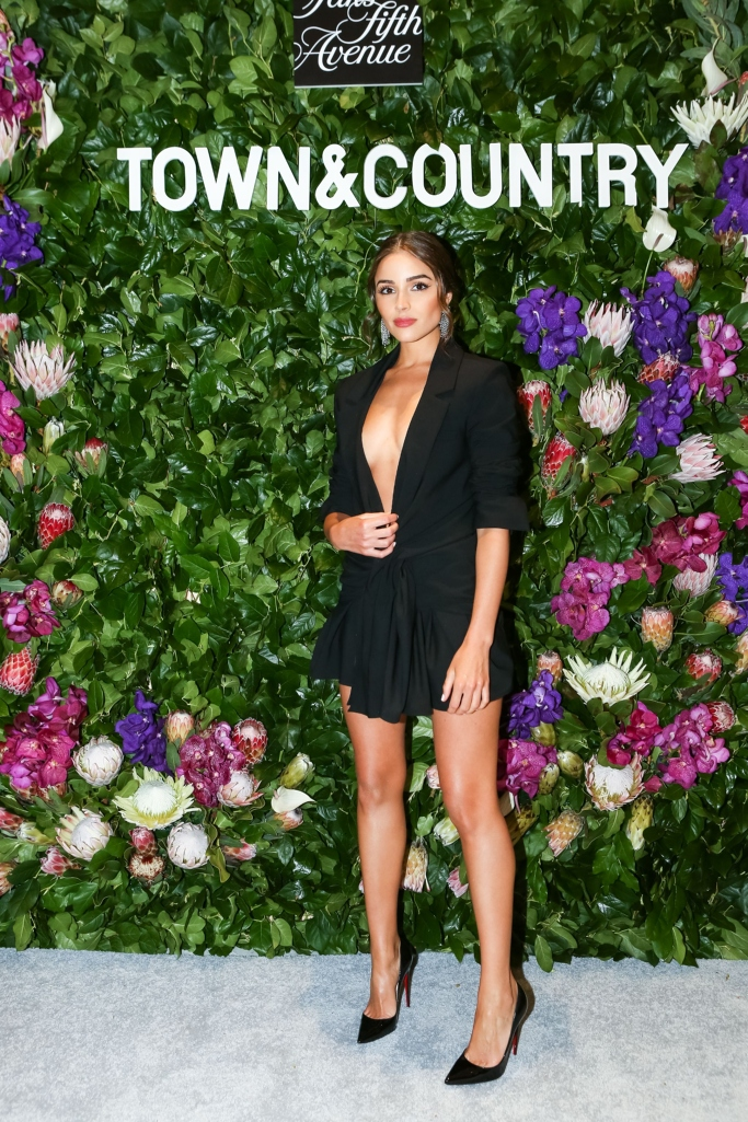 olivia culpo, Saks Fifth Avenue x Town and Country Magazine party