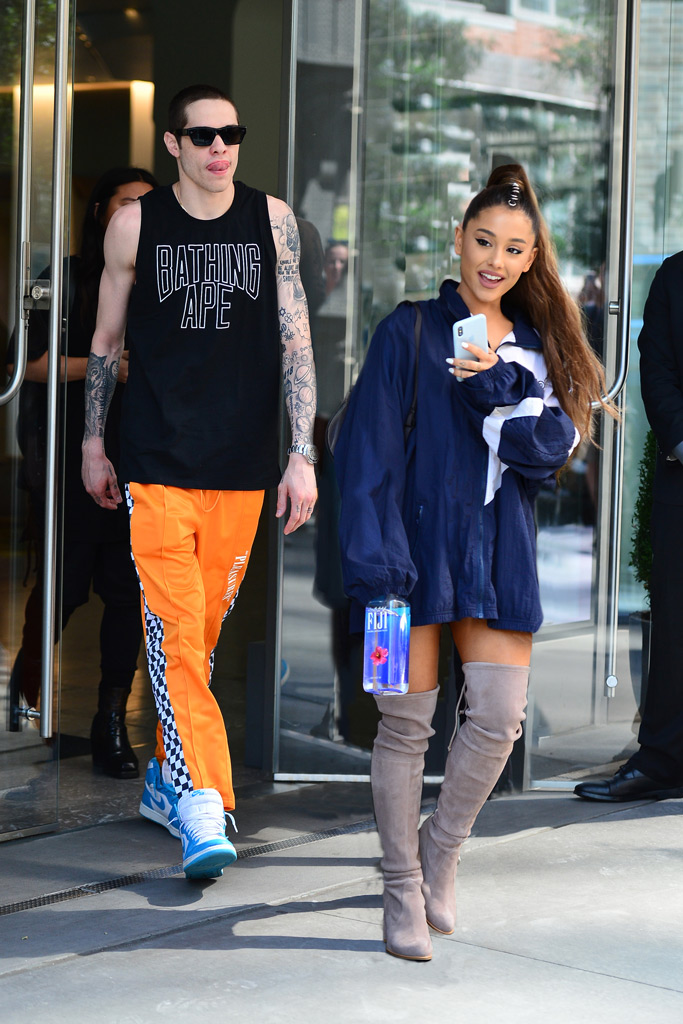 pete davidson, ariana grande, new york, shopping date