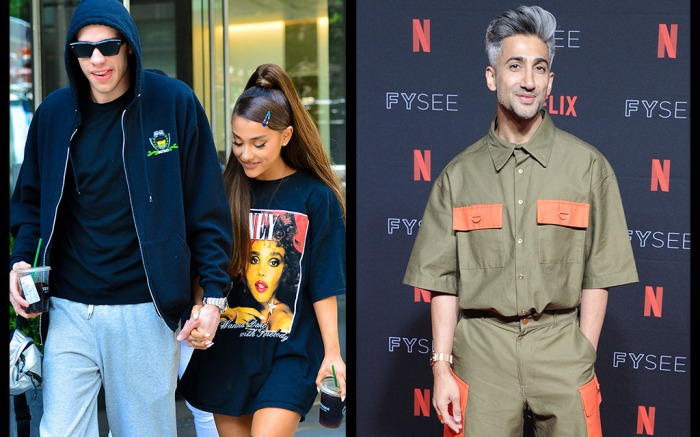 Pete Davidson, Ariana Grande, Tan France