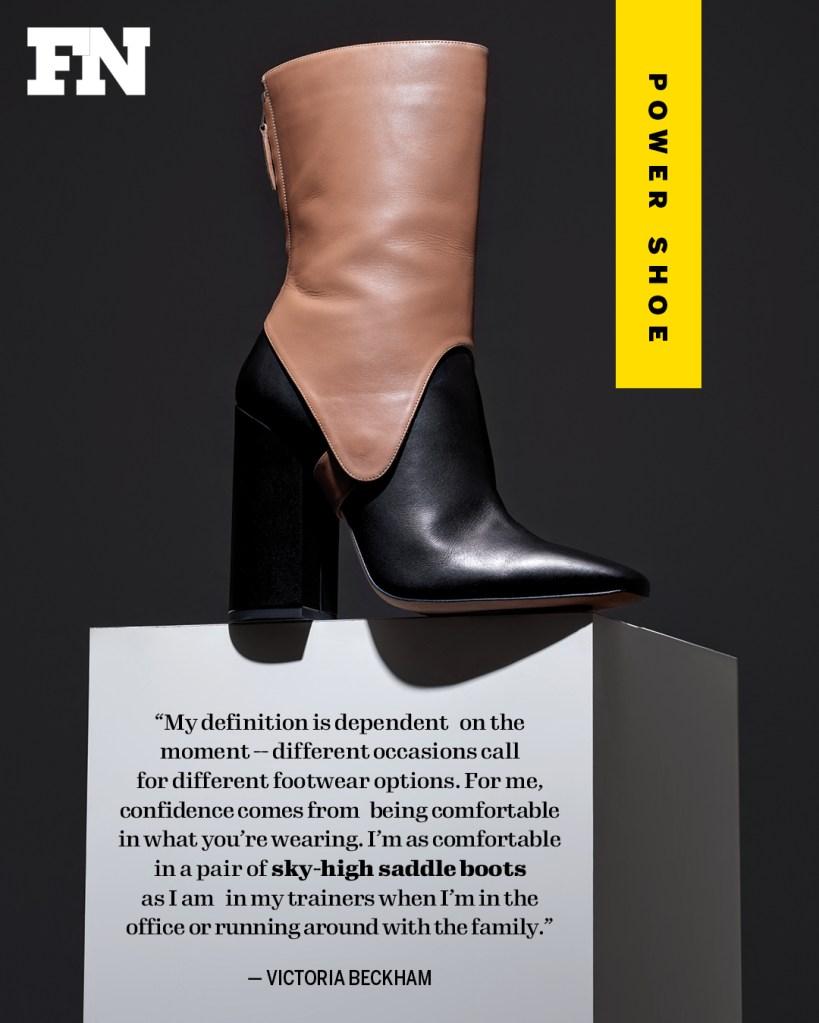 victoria beckham power shoe women in power