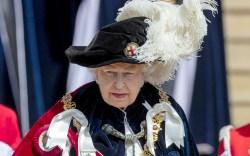 queen elizabeth Ii, garter day