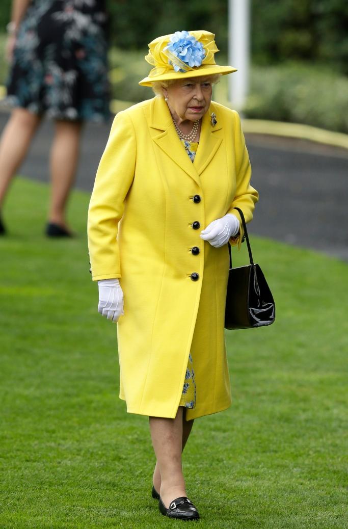 queen elizabeth II, royal ascot 2018