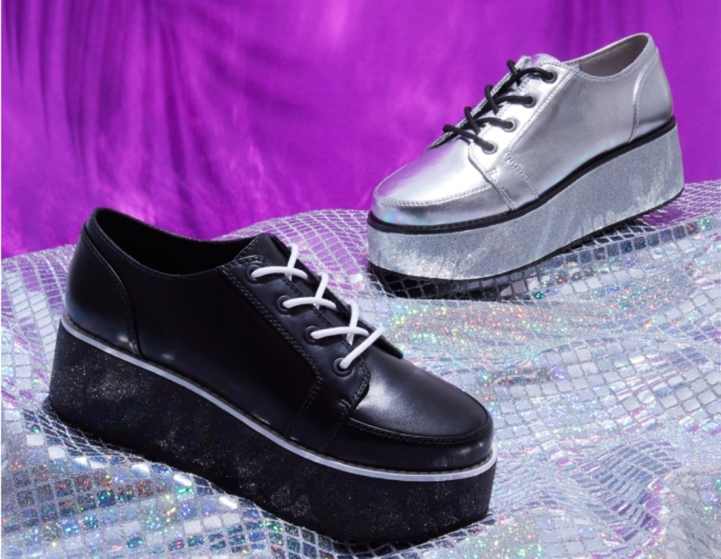 raver cali platform sneaker, chloe Bartoli capsule collection
