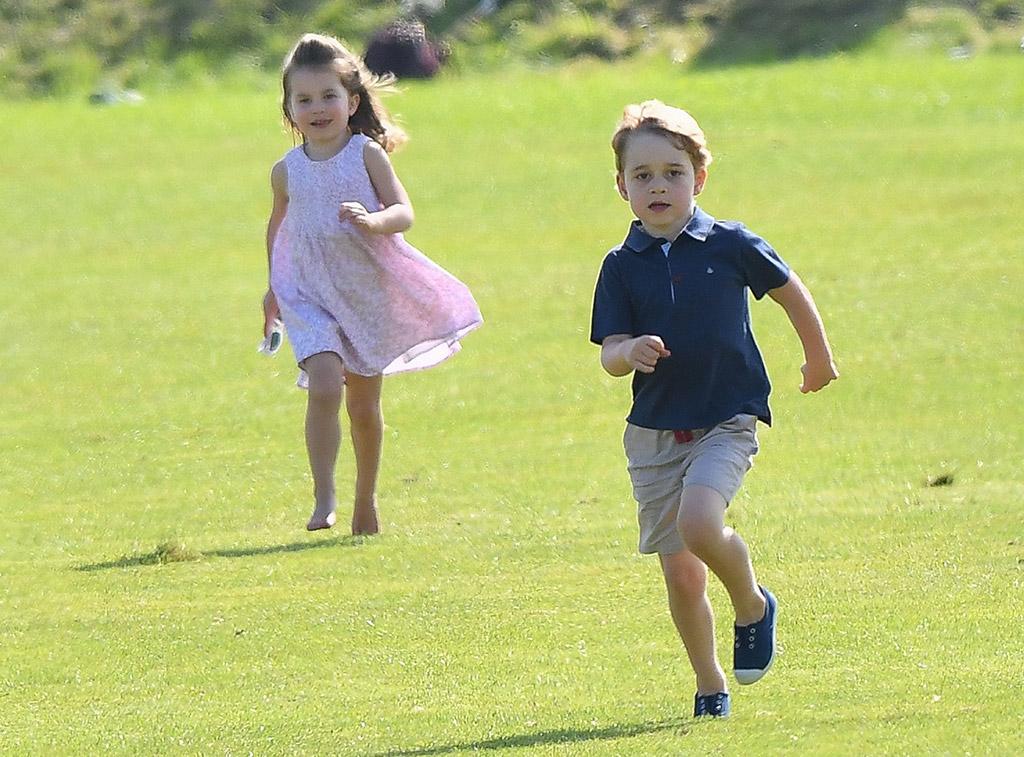 Prince George, Princess Charlotte, Hampton Canvas shoes