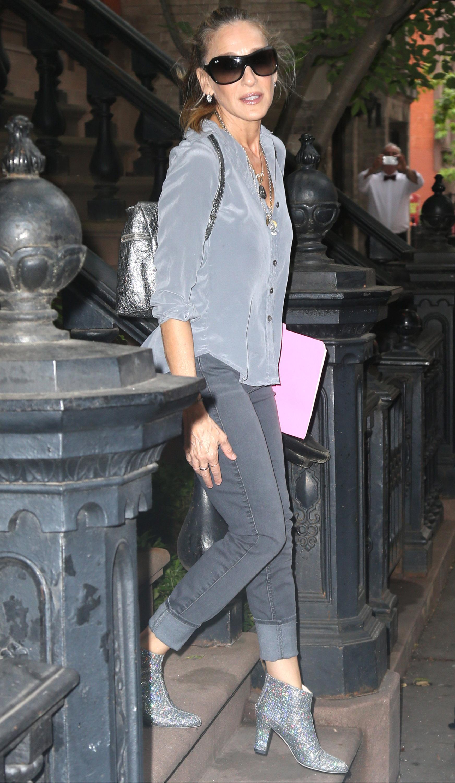 Sarah Jessica Parker Wears SJP Silver