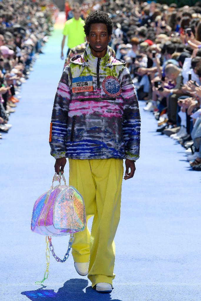 louis vuitton spring 2019, paris men's fashion week