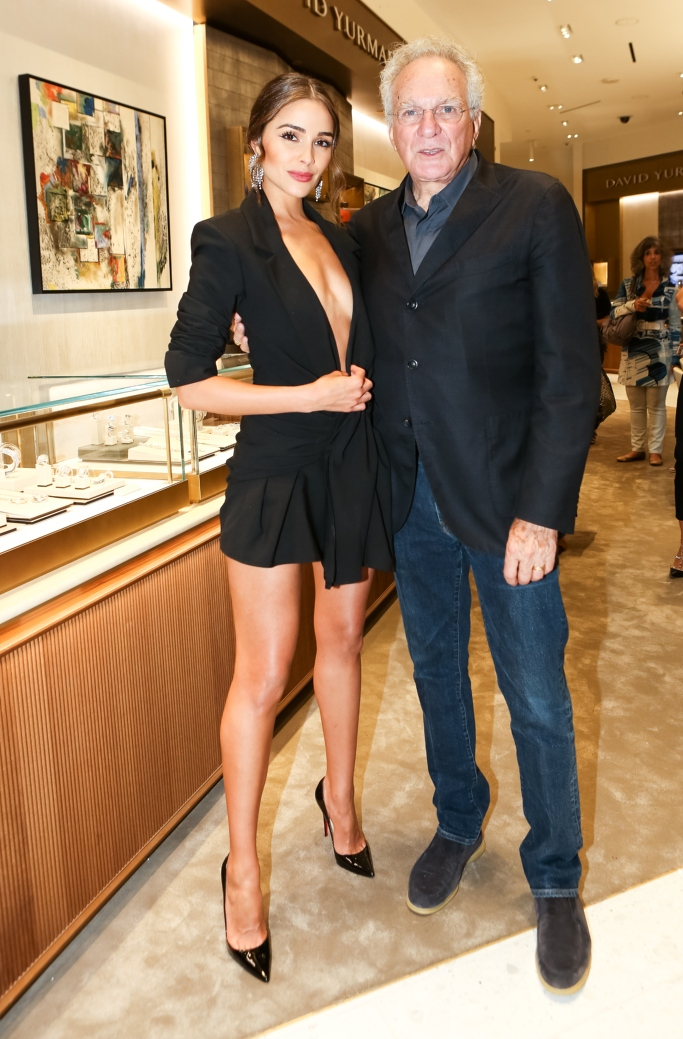 Saks Fifth Avenue x Town and Country Magazine party, Olivia Culpo, David Yurman,