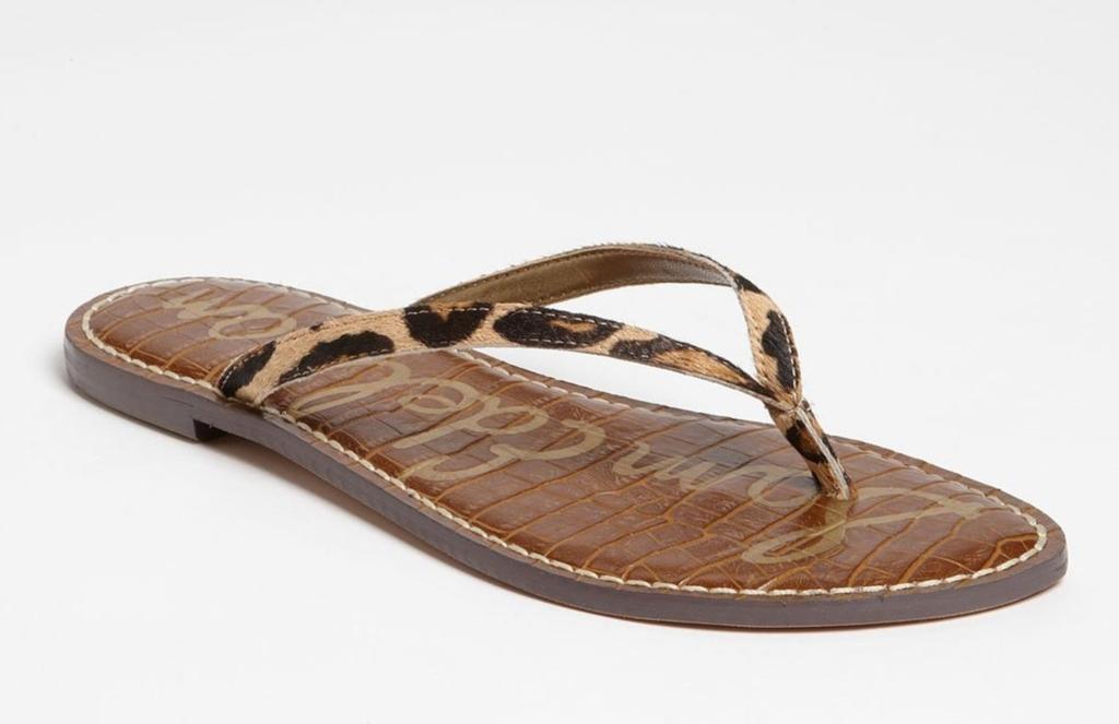 sam edelman Gracie Genuine Calf Hair Sandal