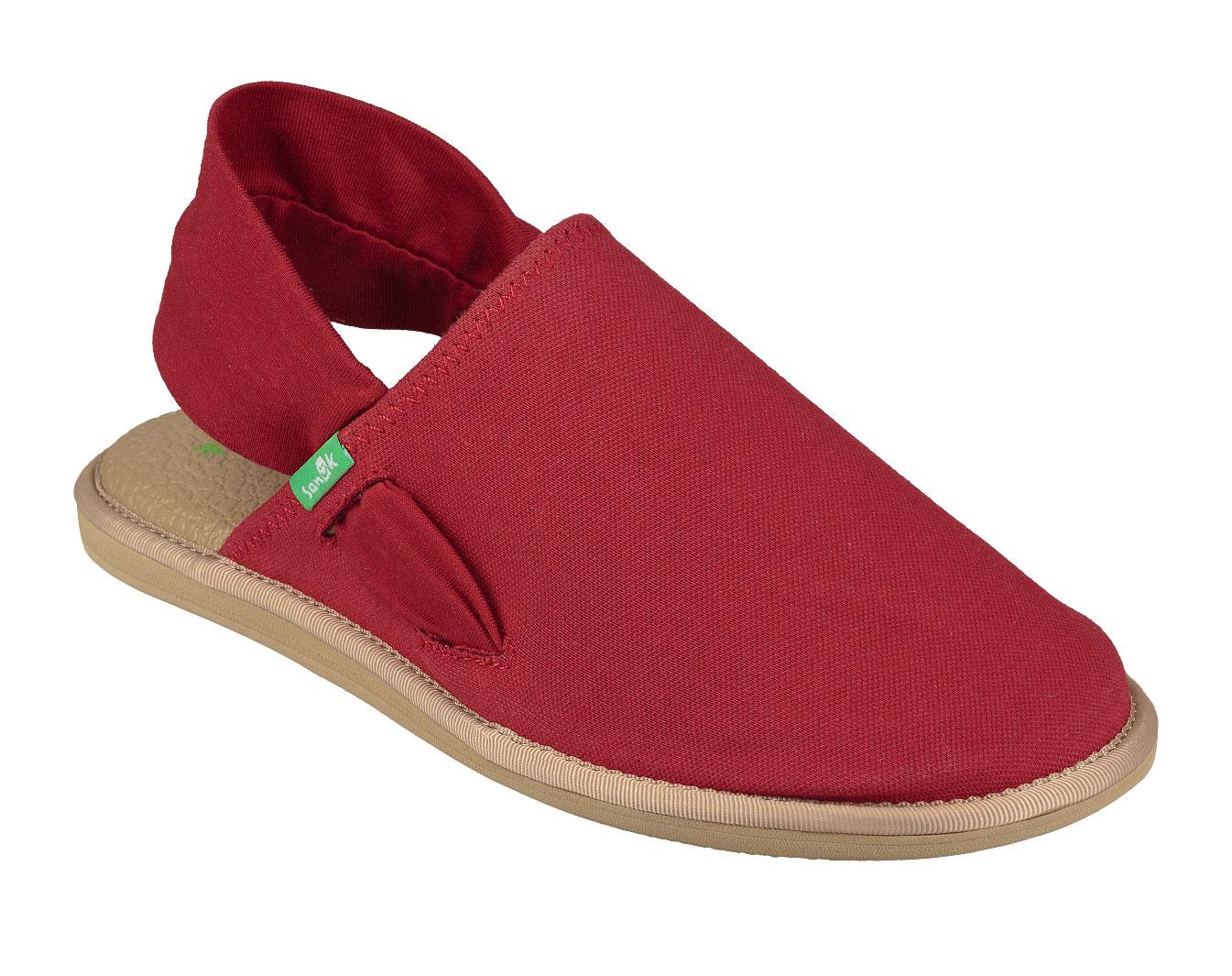 Sanuk, yoga sling cruz, red