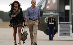 Sasha Obama's Shoe Style