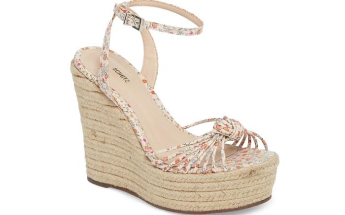 Schutz Gianna wedge sandals