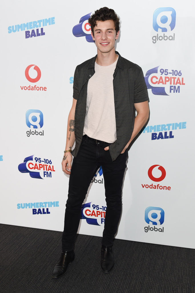shawn mendes, capital fm summertime ball