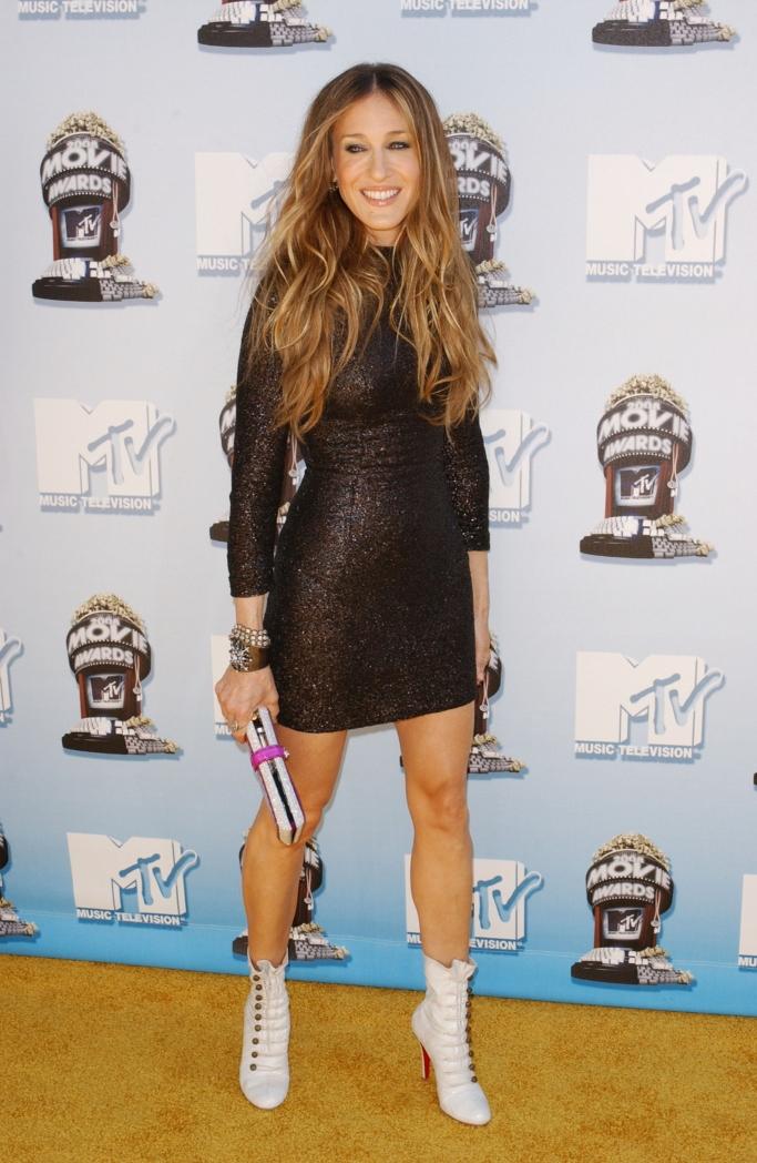 christian louboutin, sarah jessica parker, 2008 mtv movie awards