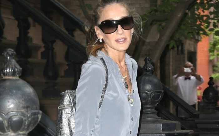 Sarah Jessica Parker seen out and about in the Big Apple.