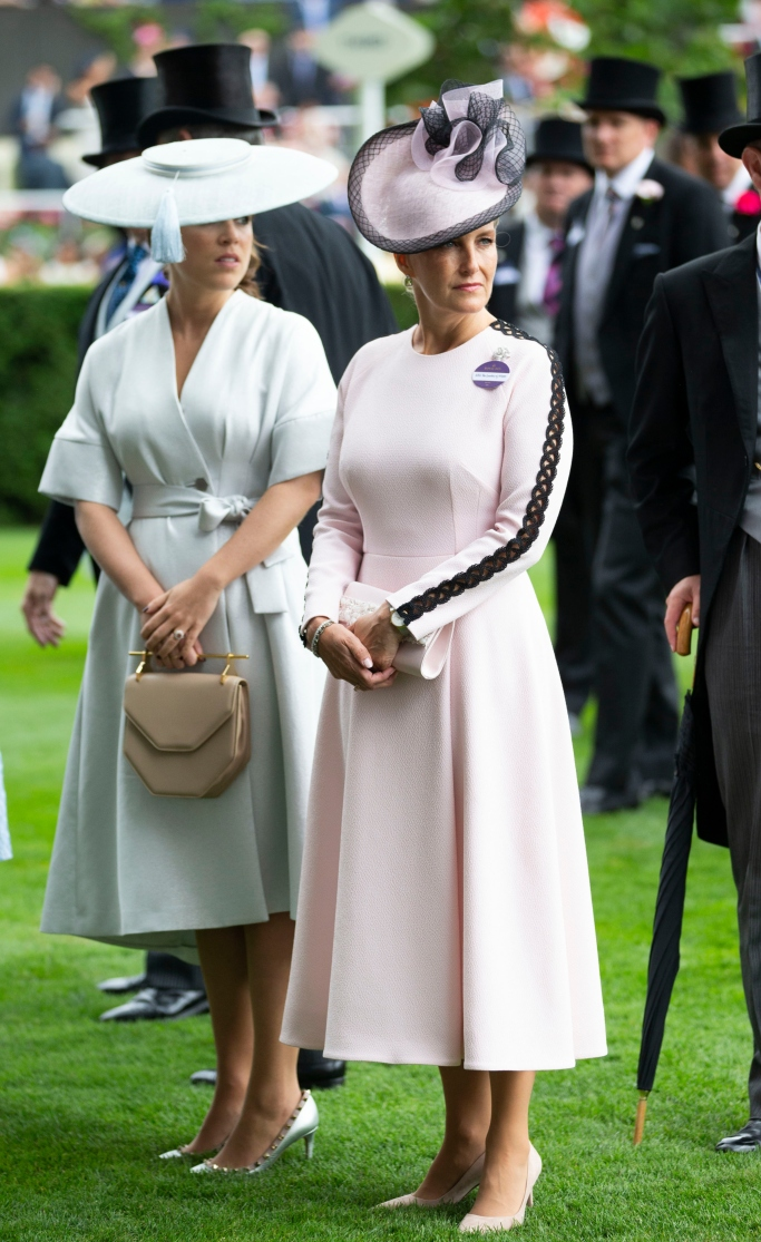 sophie countess of wessex, royal ascot 2018