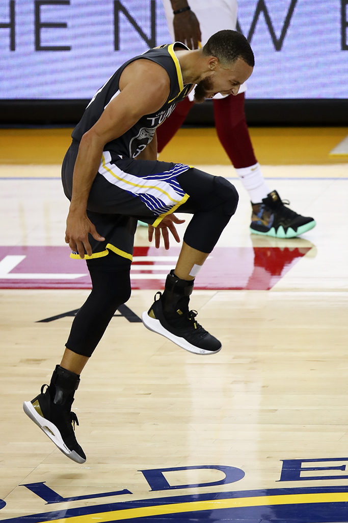 Stephen Curry Under Armour Curry 5 UA Takeover_1 Game 2 2018 NBA Finals