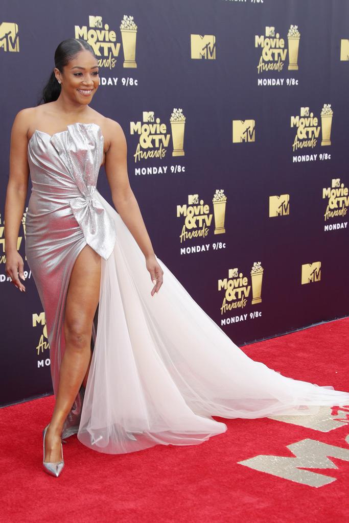 Tiffany Haddish, red carpet, mtv movie awards