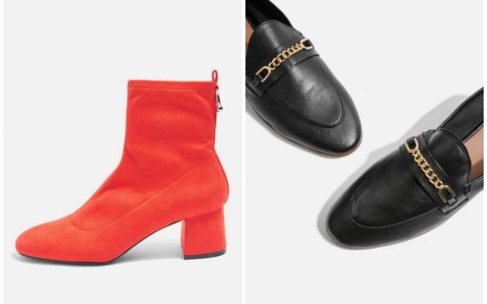 Topshop is having a huge end of season shoe sale.
